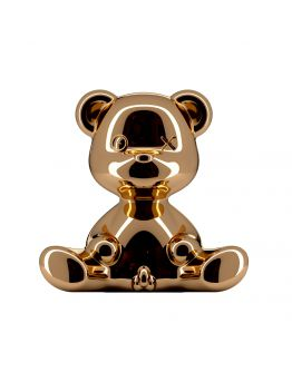 Qeeboo Teddy Boy Metal lamp indoor plug - Copper