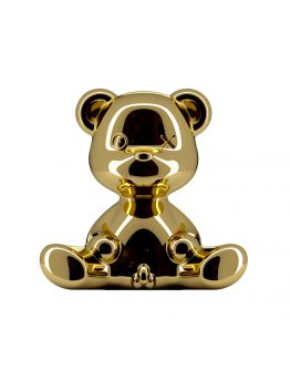 Qeeboo Teddy Boy Metal lamp indoor plug - Gold