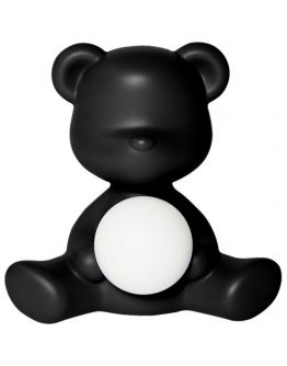 Qeeboo Teddy Girl LED lamp - Black