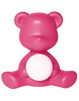 Qeeboo Teddy Girl LED lamp - Fuxia