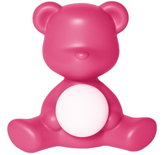 Qeeboo Teddy Girl LED lamp - Fuxia Overigen