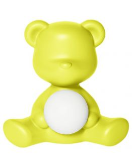 Qeeboo Teddy Girl LED lamp - Lime