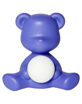Qeeboo Teddy Girl LED lamp - Violet