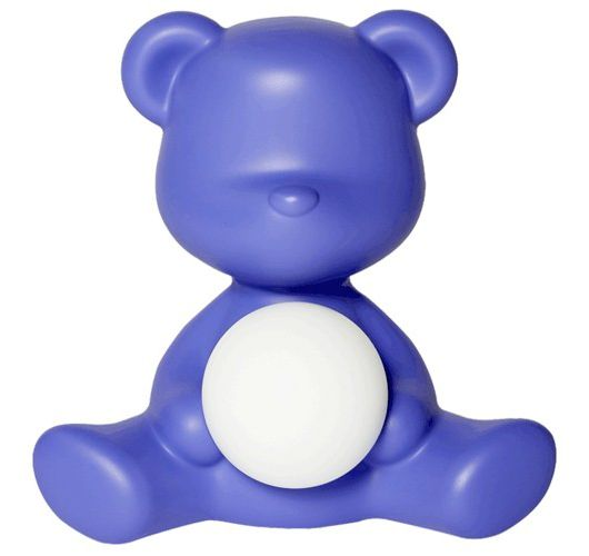 Qeeboo Teddy Girl LED lamp - Violet Tafellampen