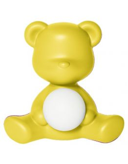 Qeeboo Teddy Girl LED lamp - Yellow