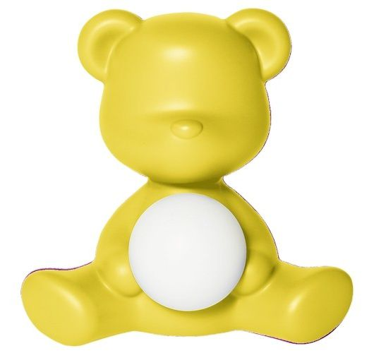 Qeeboo Teddy Girl LED lamp - Yellow Tafellampen