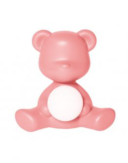 Qeeboo Teddy Girl LED lamp - Bright Pink