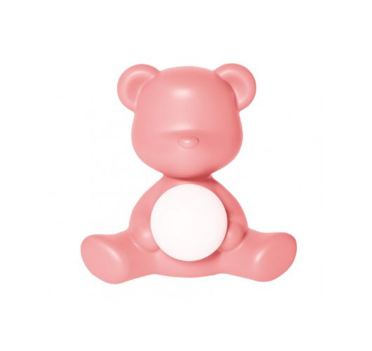 Qeeboo Teddy Girl LED lamp - Bright Pink Overigen