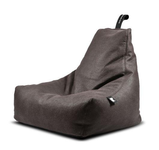 Extreme Lounging B-Bag Mighty-B Indoor Lederlook Slate Overigen