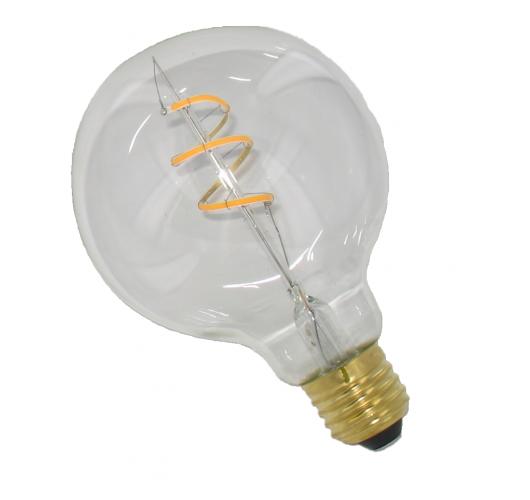 Curved Filament LED 125mm 4W Dimbaar Helder LED-lampen