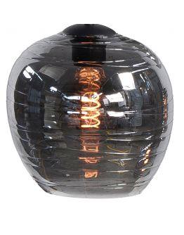 Los Glas G204019 t.b.v. Highlight hanglamp Fantasy 8 Lichts rookglas