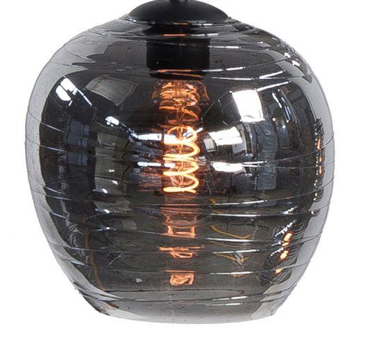 Los Glas G204019 t.b.v. Highlight hanglamp Fantasy 8 Lichts rookglas Overigen