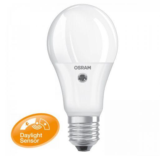 Osram dag nacht sensor LED e27 9w = 60w  LED Lampen