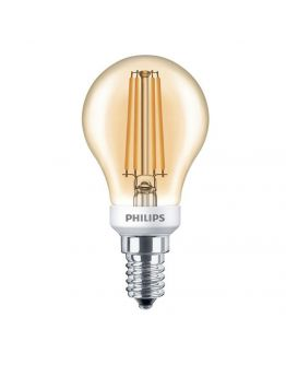 Philips Classic LED bulb 5W E14 kogel Goud | Vervangt 40W