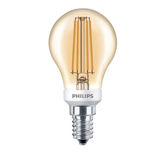 Philips Classic LED bulb 5W E14 kogel Goud | Vervangt 40W LED-lampen