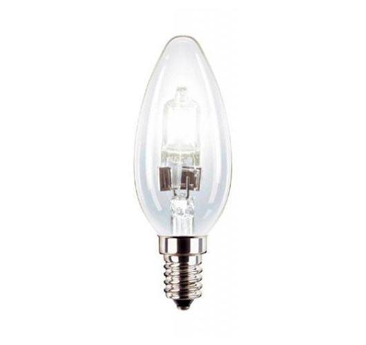 Philips EcoHalogeen Classic 28W E14 Helder (2 Stuks) Halogeenlampen