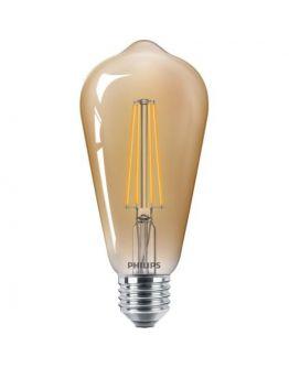 Philips Classic LED bulb 8W E27 Edison Goud | Dimbaar - Vervangt 50W