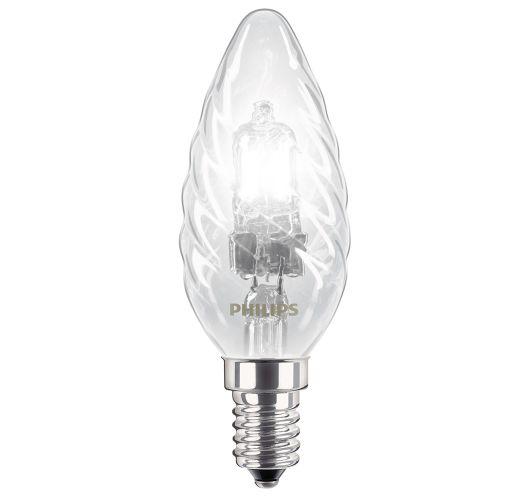 Philips EcoClassic B35 kaarslamp gedraaid 18W (25W) E14 helder Lichtbronnen