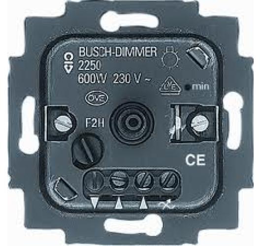 Busch-Jaeger 2250U Standaard Inbouw Dimmer 60-600W Overigen