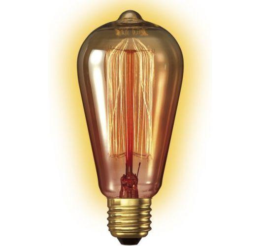 Kooldraadlamp Edison Goud | 40W | Dimbaar Gloeilampen
