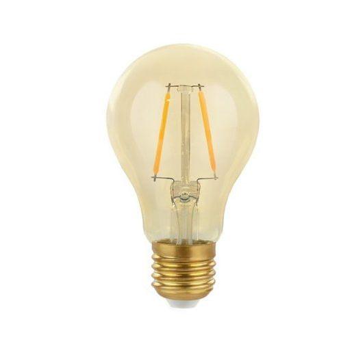 Filament Led A60 4W/40W E27 Goud 2200K 360lm (niet dimbaar) Ledlampen