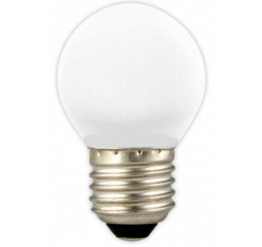 Kogellamp LED 1W (=10W) E27 Mat Ledlampen