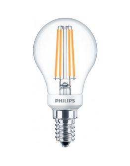 Philips led kogel E14 5w/32w helder dimbaar 2200k 350lumen