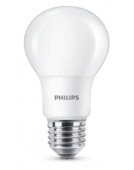 Philips LED lamp 5.5W E27 Mat Dimbaar