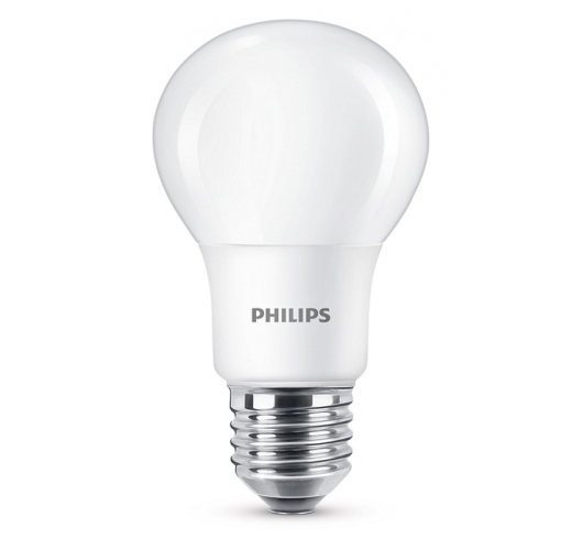 Philips LED lamp 5.5W E27 Mat Dimbaar LED-lampen