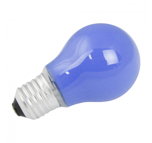 Gloeilamp E27 15w 230v Blauw Gloeilampen