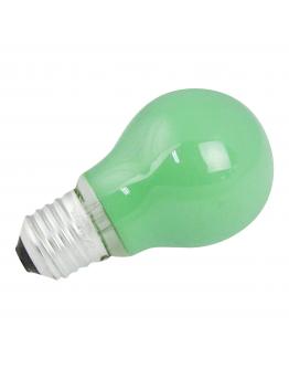 Gloeilamp E27 15w 230v Groen