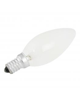 Kaarslamp E14 15W 230v Mat