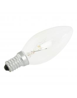 Kaarslamp E14 60w 230v Clear