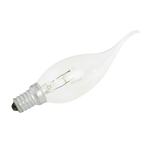 Kaarslamp met Gebogen Punt E14 25W 230v Helder Gloeilampen