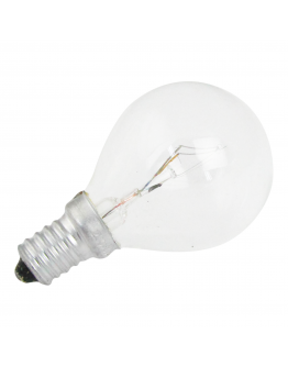 Kogellamp E14 60w 230v Clear