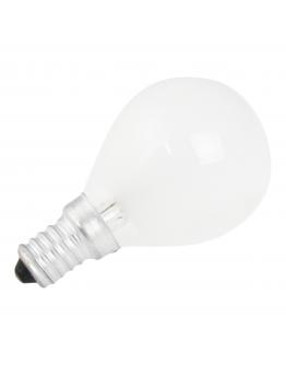 Kogellamp E14 60w 230v Mat