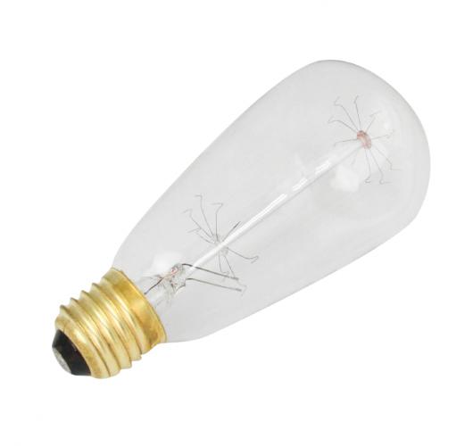 Kooldraadlamp ST64 Edison 40W E27 Gloeilampen