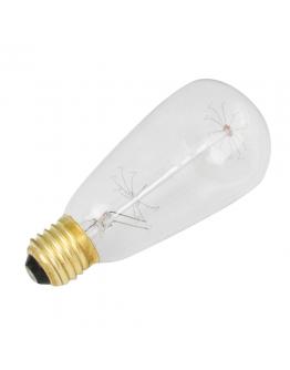 Kooldraadlamp ST64 Edison 60W E27