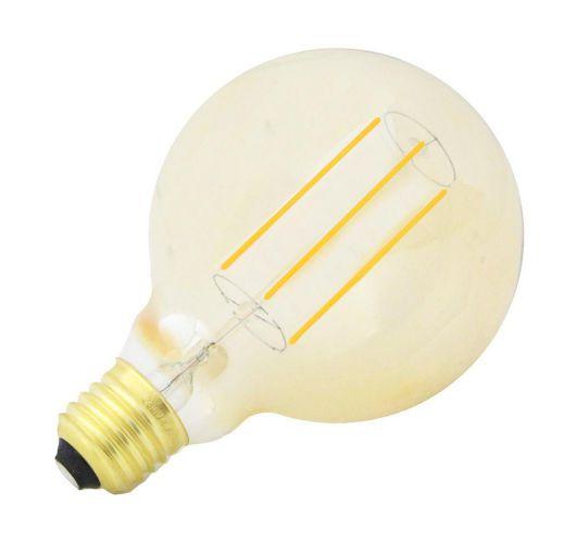 LED Lamp Globe 4w E27 Goud