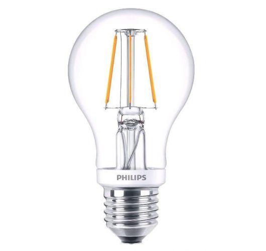 Philips Classic LEDbulb E27 A60 4.5W 827 Helder | Dimbaar - Vervangt 40W Ledlampen