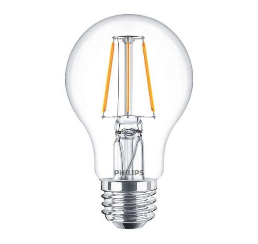 Philips Classic LEDbulb E27 A60 4W 827 Helder | Vervangt 40W LED-lampen