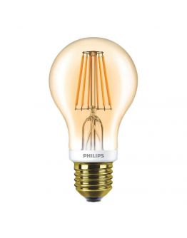 Philips Classic LED bulb 7.5W E27 Goud | Dimbaar - Vervangt 48W
