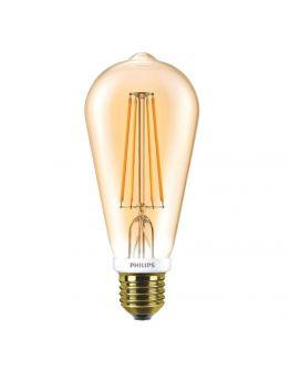 Philips Classic LED bulb 7W E27 Edison Goud | Dimbaar - Vervangt 50W