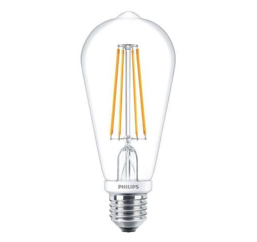 Philips Classic LEDbulb E27 Edison 7W 827 Helder   Dimbaar - Vervangt 60W LED-lampen