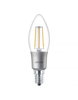 Philips Classic LEDcandle E14 B35 3W 827 Helder | Dimbaar - Vervangt 25W