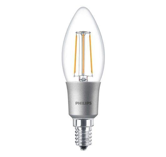 Philips Classic LEDcandle E14 B35 3W 827 Helder | Dimbaar - Vervangt 25W Ledlampen