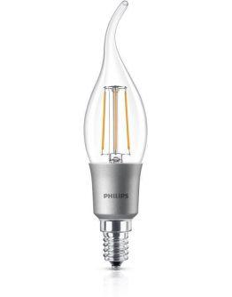 Philips Classic LEDcandle E14 BA35 4.5W 827 Helder | Dimbaar - Vervangt 40W