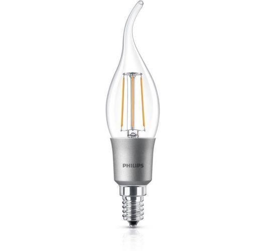Philips Classic LEDcandle E14 BA35 4.5W 827 Helder   Dimbaar - Vervangt 40W LED-lampen