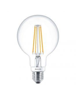 Philips Classic LEDglobe E27 G93 7W 827 Helder | Dimbaar - Vervangt 60W