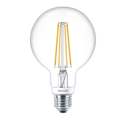 Philips Classic LEDglobe E27 G93 7W 827 Helder | Dimbaar - Vervangt 60W LED-lampen